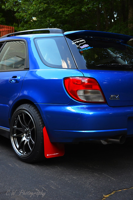02 wrx wagon my 2002 wrx wagon jna stealth exhaust red r flickr photo sharing. Black Bedroom Furniture Sets. Home Design Ideas