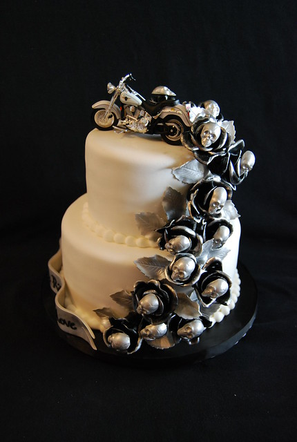 Harley Bike Cake Topper