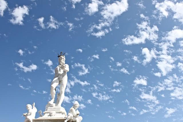 Neptunian sky
