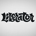 Liberator type for Live Oak Brewing Company by David Kampa