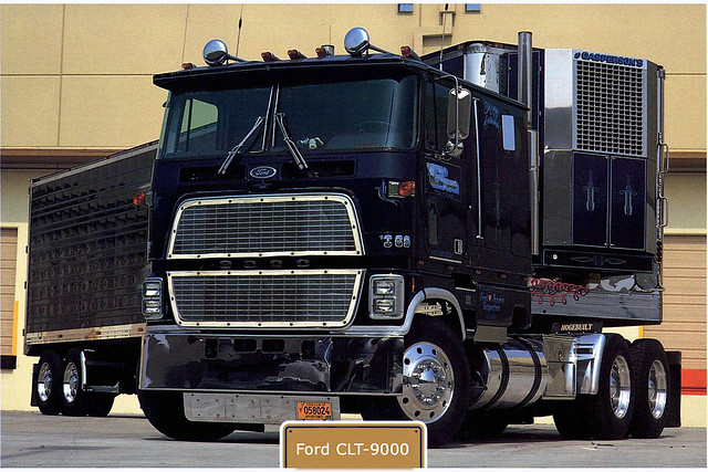 Ford 9000 Cabover Interior : Ford clt flickr photo sharing