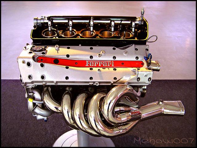 Ferrari V10 F1 Engine 046 2 1997 Flickr Photo Sharing