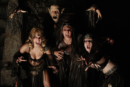 NETHERWORLD Haunted House Vampire Brides
