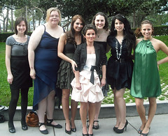 Representatives of the Missouri Southern Chapter of the National Broadcasting Society attended the National Convention in Los Angeles in March 2011.