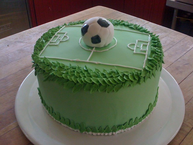 Images Of Soccer Cake : soccer cake Flickr - Photo Sharing!