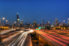 From 31 Street Bridge, Chicago Il.