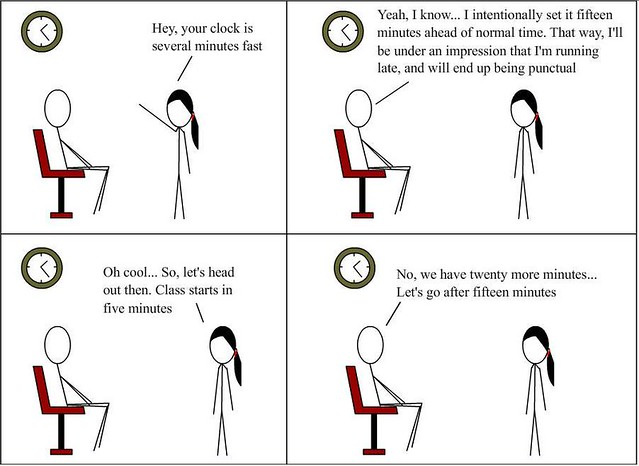 Importance of punctuality?