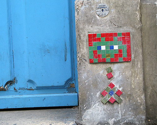 Space invader [Paris 2e]