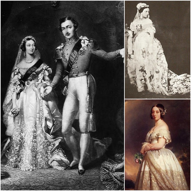 White Wedding Dress Queen Victoria: Queen Victoria & Prince Albert's Wedding