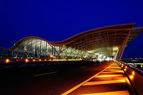 PVG exterior of Terminal 2