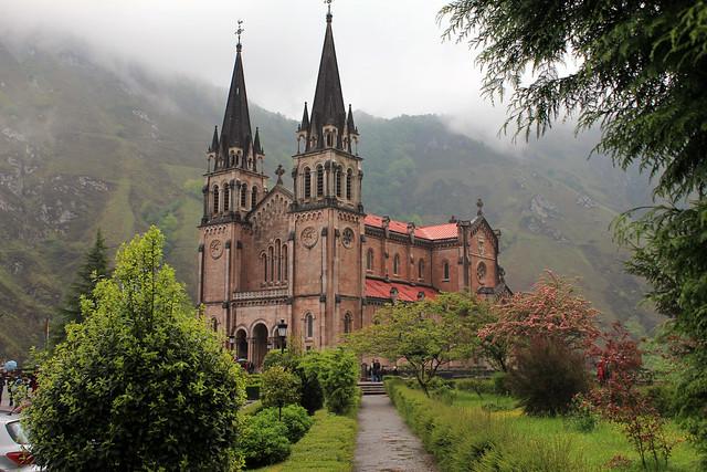 Santuario de Covadonga-Asturias