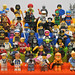LEGO Collectible Minifigures Series 1 ~ 4 (All 64 Minifigures) by 713 Avenue
