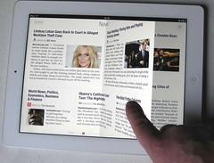 Apple iPad valkoinen