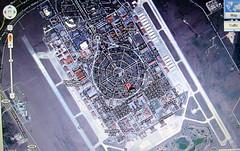 San Antonio's Randolph Air Force Base:  Google Maps Satellite View 2