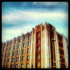 Armory of a Downtown Past, silently guarding the echoing streets of downtown Spokane.