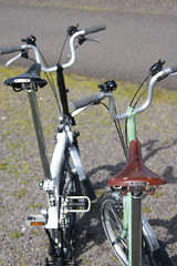Brooks Saddles on Bromptons