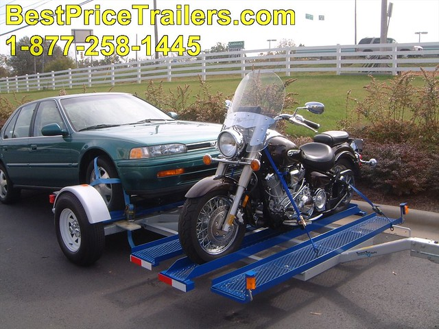 Tandem Tow Dolly http://www.flickr.com/photos/car-trailers/5682129793/