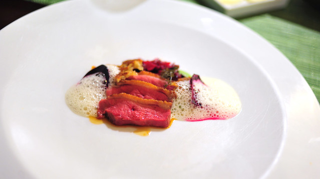 13th Course: Salt-Roasted Duck and Beets