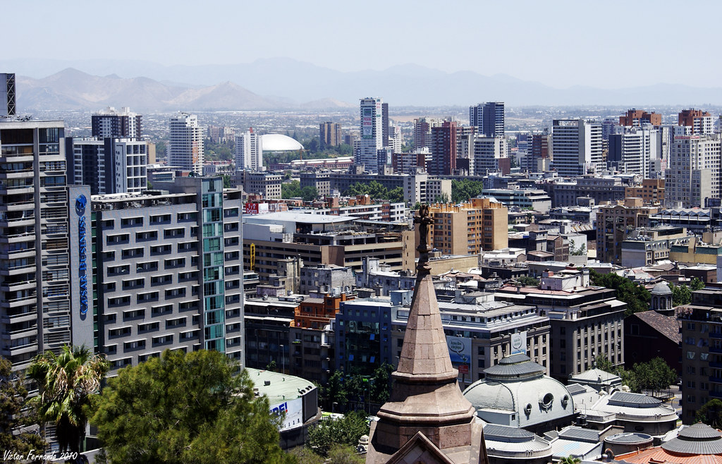 Cerro Santa Lucia - Santiago de Chile