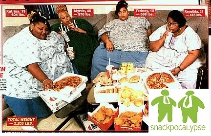 For support Fat girls that are eating