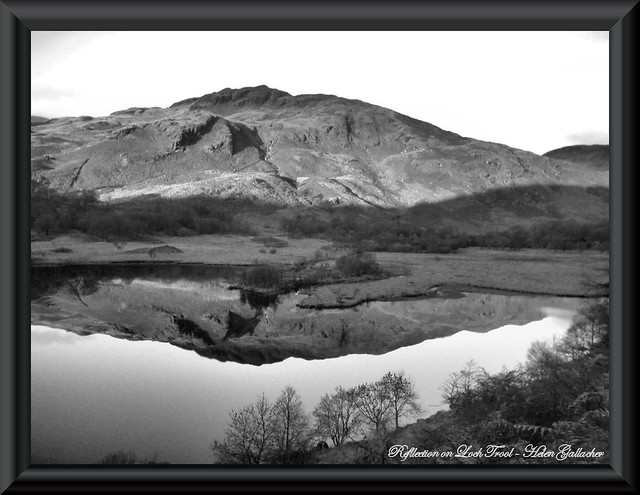Reflection on Loch Trool