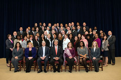 Secretary Kerry with the 103rd Civil Service Class