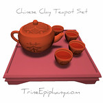 Chinese Clay Teapot Set