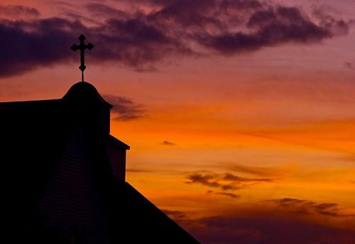 sunset orange cloud church silhouette clouds arlington raw purple cross sony 330 dome wa alpha orthodox a minolta50mmf17 minoltaamount