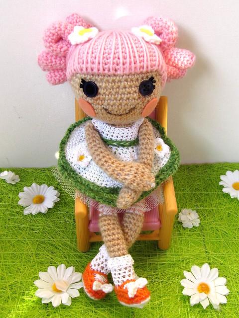 Dorothy Dinosaur Knitting Pattern : Amigurumi Crochet And Sewing Free Pattern Lalaloopsy Doll Party Invitations...