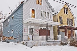 2 abandoned homes