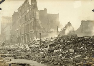 East Third Street, Dayton, OH - 1913 Flood