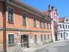 Bechyně, uprostřed budova bývalé synagogy, foto: Petr Nejedlý