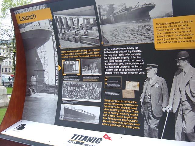 Belfast City Hall, Exposición Titanic