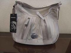 DIESEL bolso gris 1