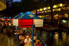 San Antonio Riverwalk Evening Dining