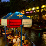 San Antonio Riverwalk Evening Dining
