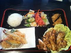 meal, tonkatsu, fried prawn, fish, samgyeopsal, ekiben, makunouchi, food, dish, cuisine, tempura,