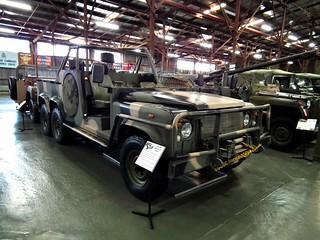 1989 Land Rover Long Range Patrol Vehicle