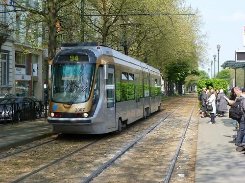 Brussels Tram