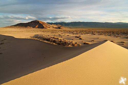 Land of Light and Shadow - Ibex Sand Dunes, Death Valley National Park