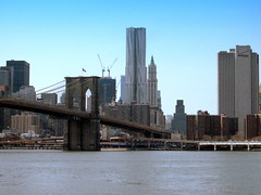 New York. City and East River