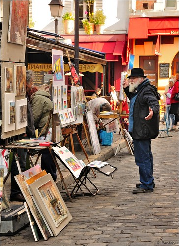 Paris Montmartre (Source:  Pantchoa)
