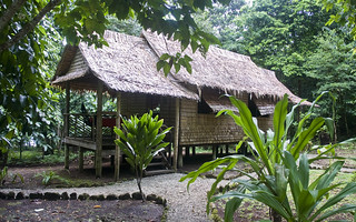 Tetepare Hut