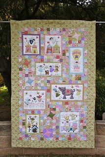 Fairyland quilt by my sister-in-law
