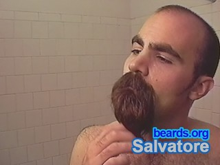 Salvatore: going goatee, part 19