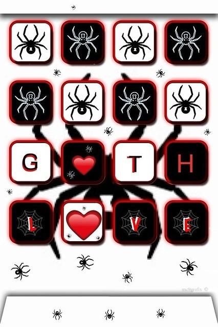 gothic love iphone wallpaper - photo #4