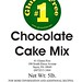 RECALLED - Cake Mix