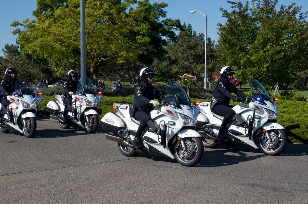 Anaheim Police Bikes