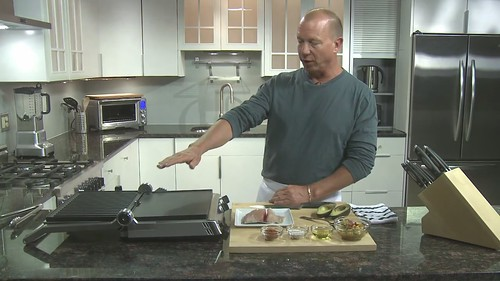 Chef Chris Schlesinger: Latin Spice Crusted Mahi Mahi on the Smart Grill