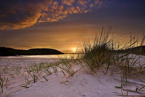 sunset beach scotland sutherland achmelvich mygearandme mygearandmepremium mygearandmebronze dblringexcellence